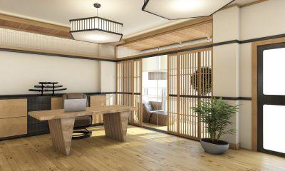 Interieur in Tokio stijl