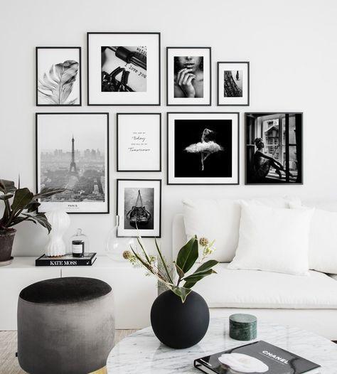 fotowand woonkamer