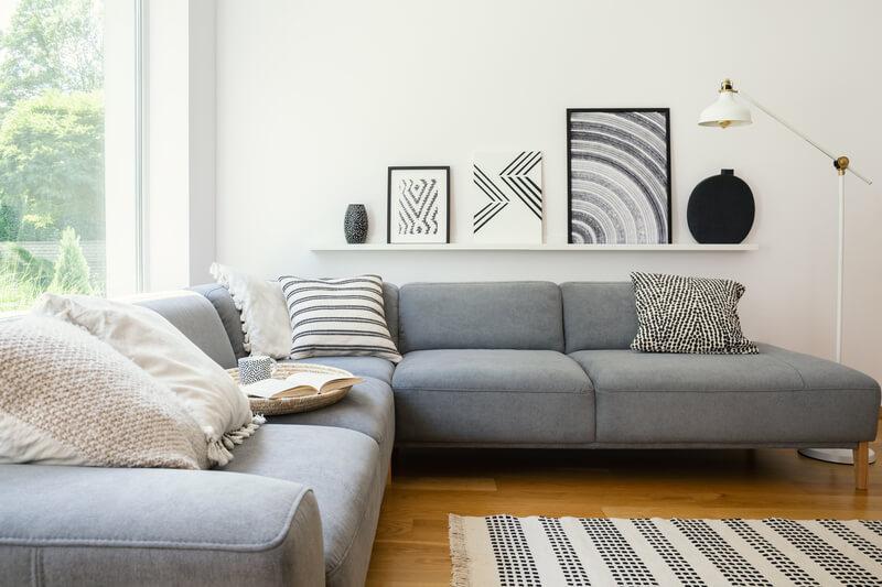 wanddecoratie boven de tv