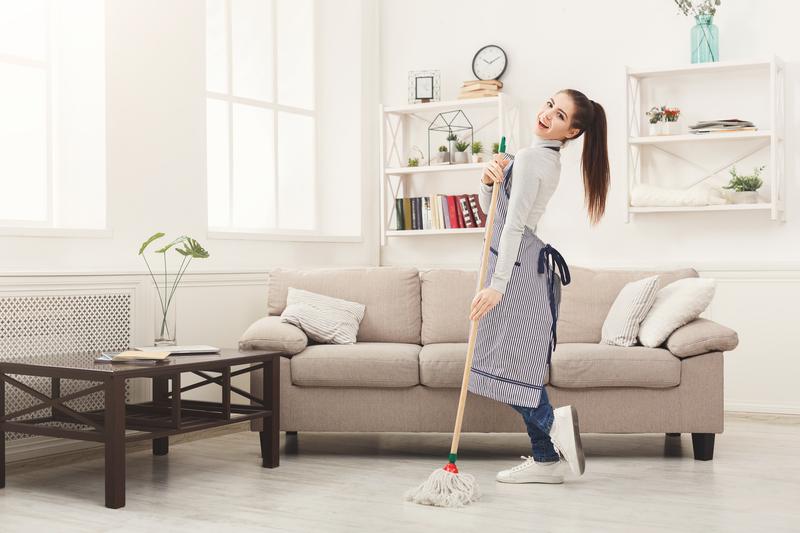 je huis snel en goed schoonmaken